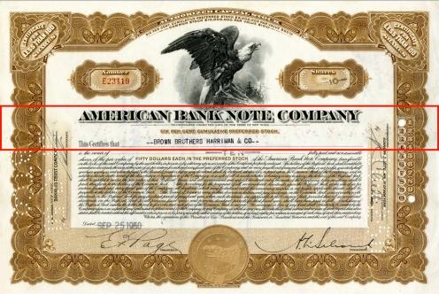1950 ABNC Stock